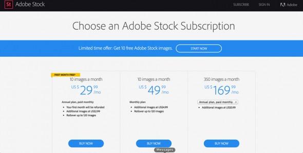 Jak získat zdarma Adobe Stock na 1 měsíc - podrobný průvodce (10 stažení zdarma) 7