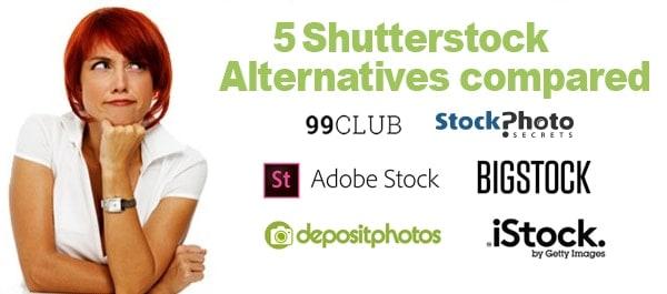 5 alternativ k Shutterstocku