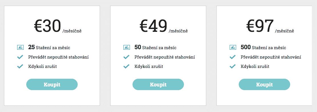 Měsíční nabídka Stockphotosecret