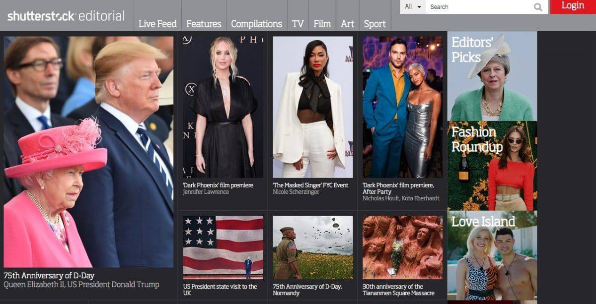 Rex Features nyní přejmenován na Shutterstock Editorial 1