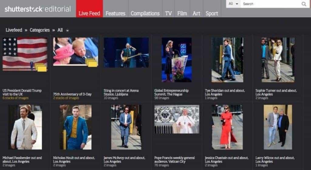 Rex Features nyní přejmenován na Shutterstock Editorial 3