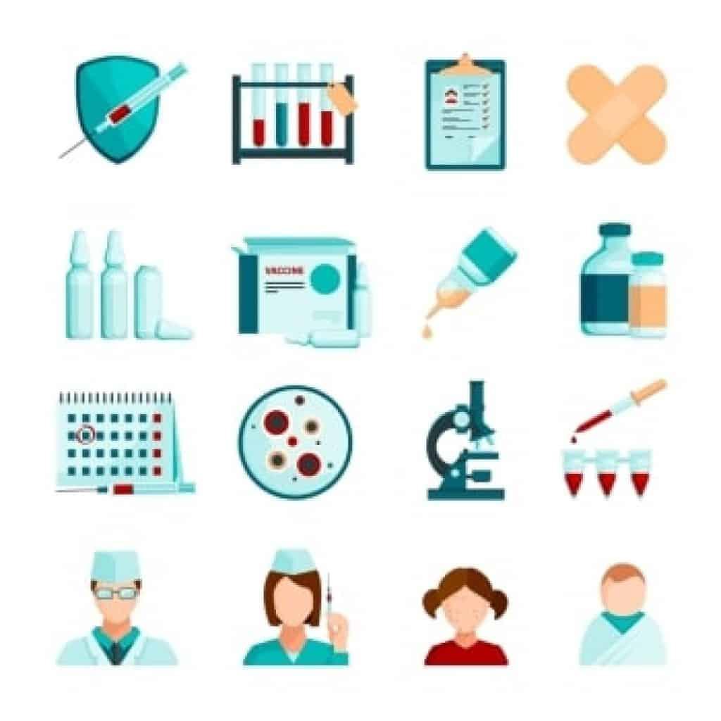 Ikony pro očkování
