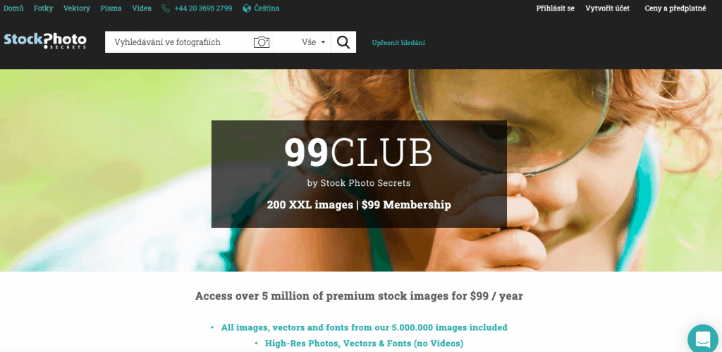 99club uvodni stranka