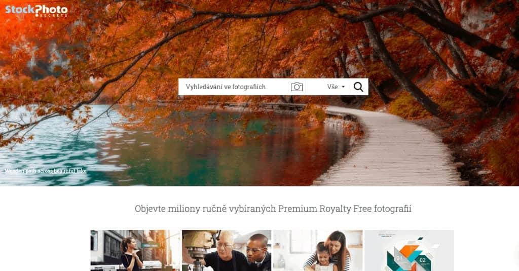 Snímek obrazovky - Stock photo secrets
