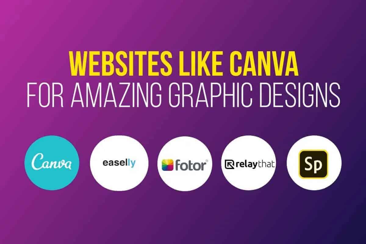 Nejlepší 19 webových stránek podobných jako Canva pro rychlé a jednoduché grafické návrhy 1
