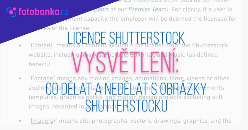 Vysvětlení licence Shutterstock: Co dělat a nedělat s obrázky Shutterstocku 1