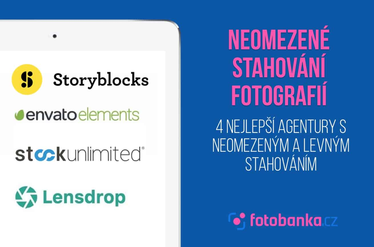 Neomezené stahování fotografií: 4 nejlepší agentury s neomezeným a levným stahováním 1