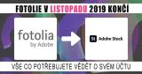 Ukončení Fotolie v roce 2019: Migrace členů do společnosti Adobe Stock Starts