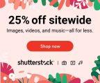 Shutterstock exkluzivní 25% sleva na VŠE