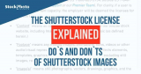 Vysvětlení licence Shutterstock: Co dělat a nedělat s obrázky Shutterstocku