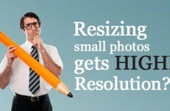 Jak mohu získat vyšší rozlišení fotky?